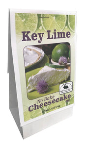 Key Lime No Bake Cheesecake