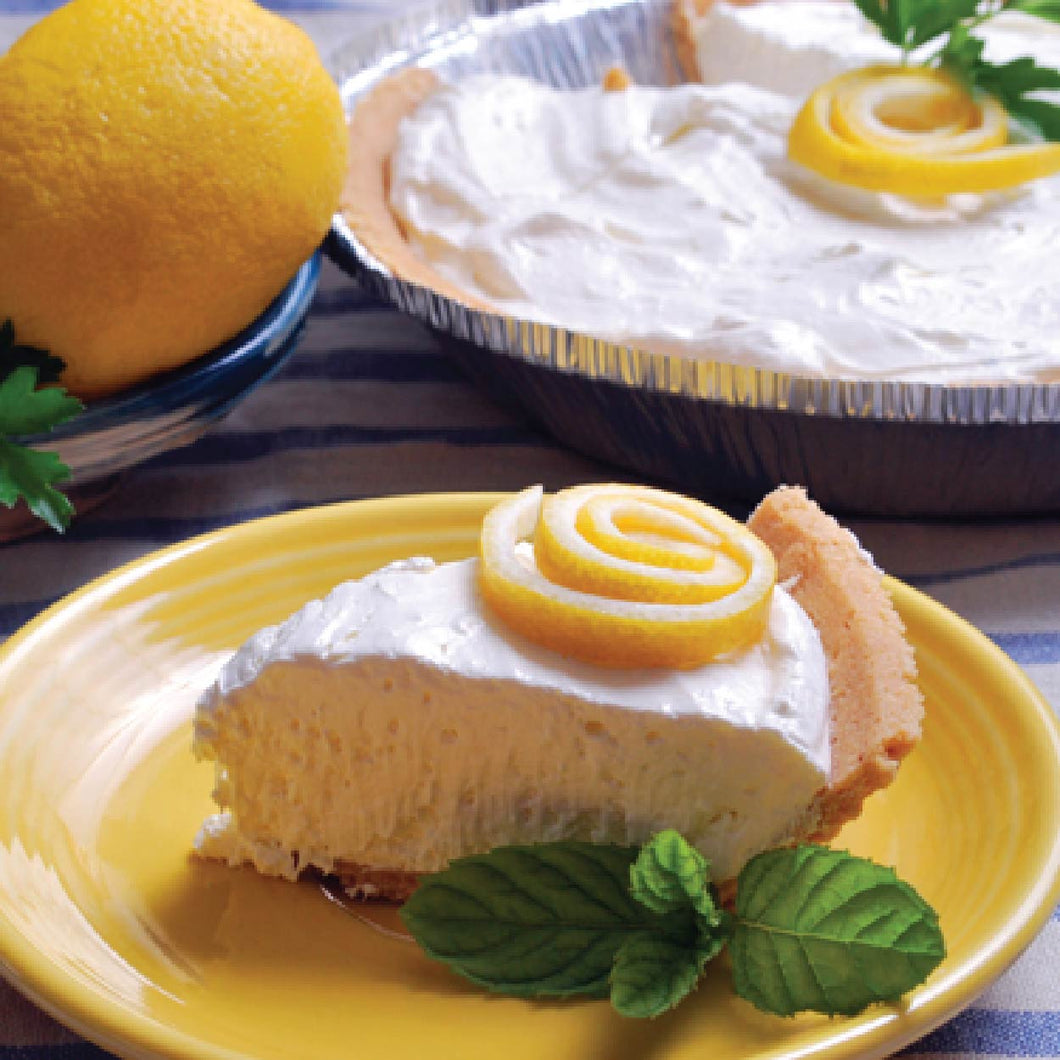 Lemon Chiffon No Bake Cheesecake
