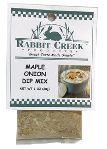 Maple Onion NEW! Vegetable Dip Mix