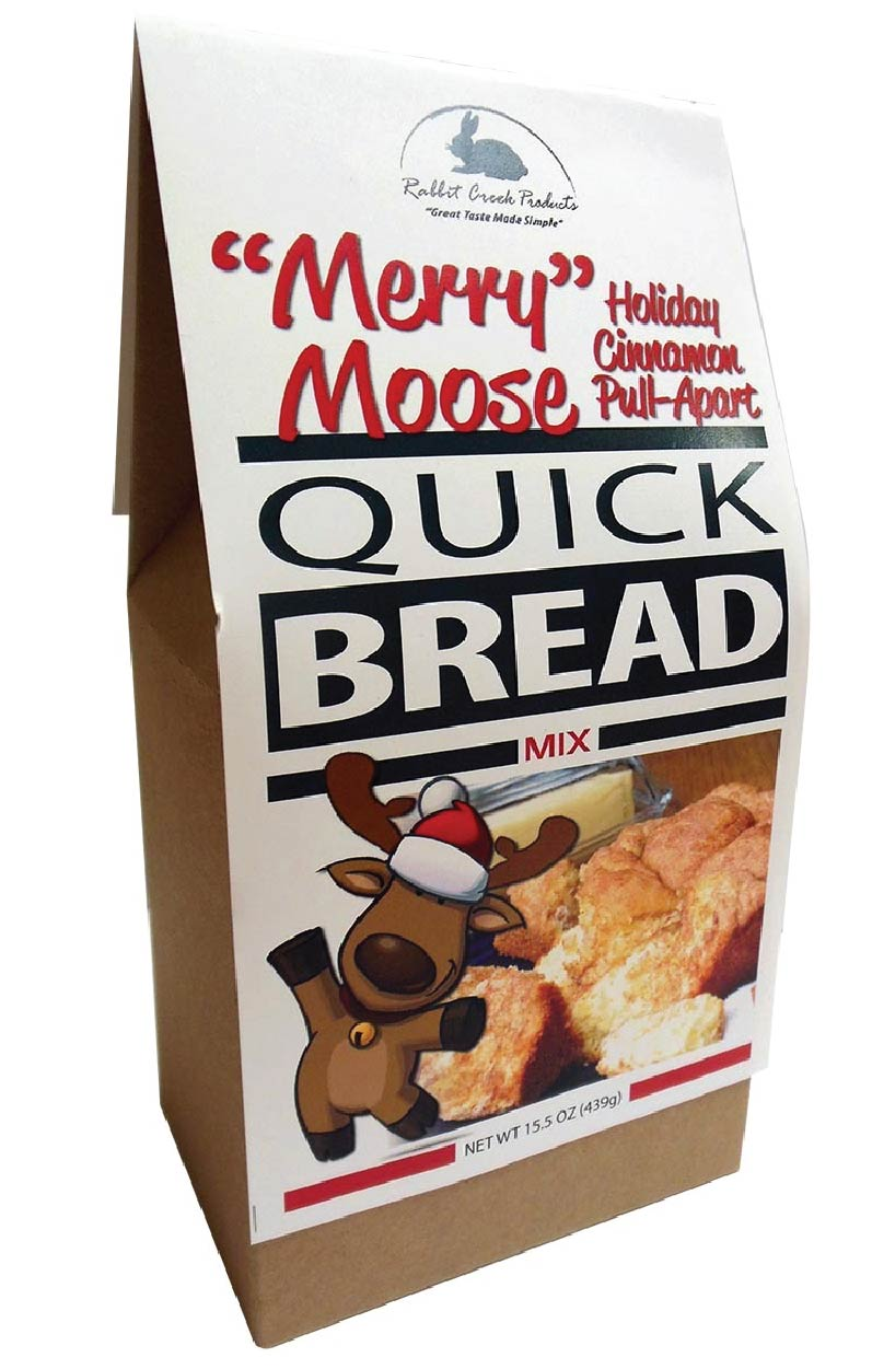 Merry Moose Cinnamon Pull Apart Quick Bread Mix Sunflower Food Co