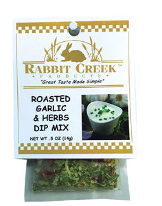 Roasted Garlic & Herbs Vegetable Dip Mix