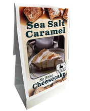 Load image into Gallery viewer, Sea Salt Caramel No Bake Cheesecake