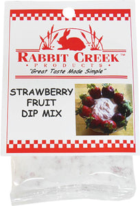 Strawberry Fruit Dip Mix