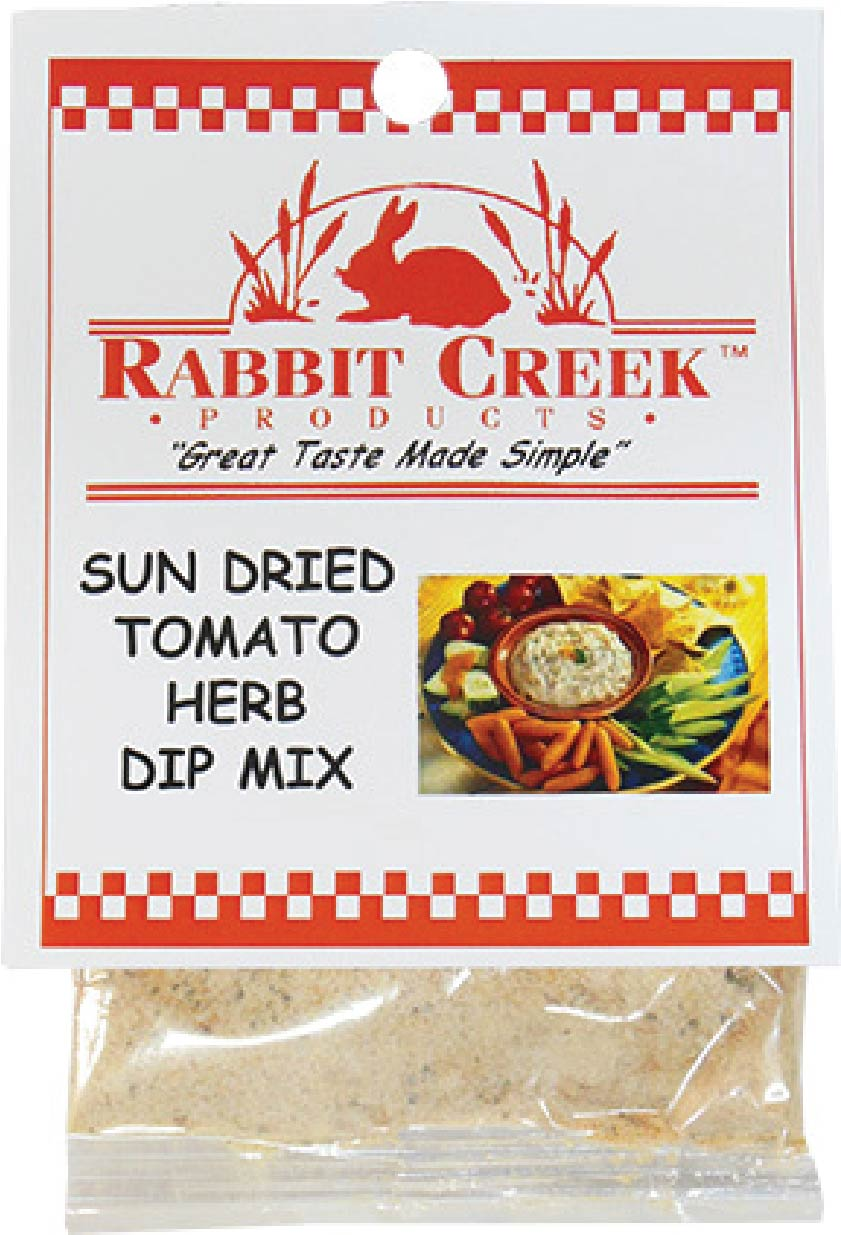 Sun Dried Tomato Herb Vegetable Dip Mix