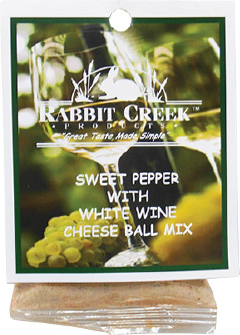 Sweet Pepper w/ Chardonnay Wine Cheese Ball Mix