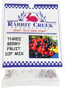 Three Berry Fruit Dip Mix