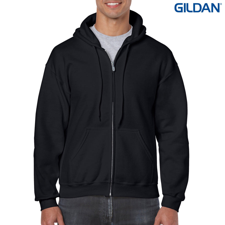 18600 Gildan Heavy Blend Adult Full Zip Hoodie