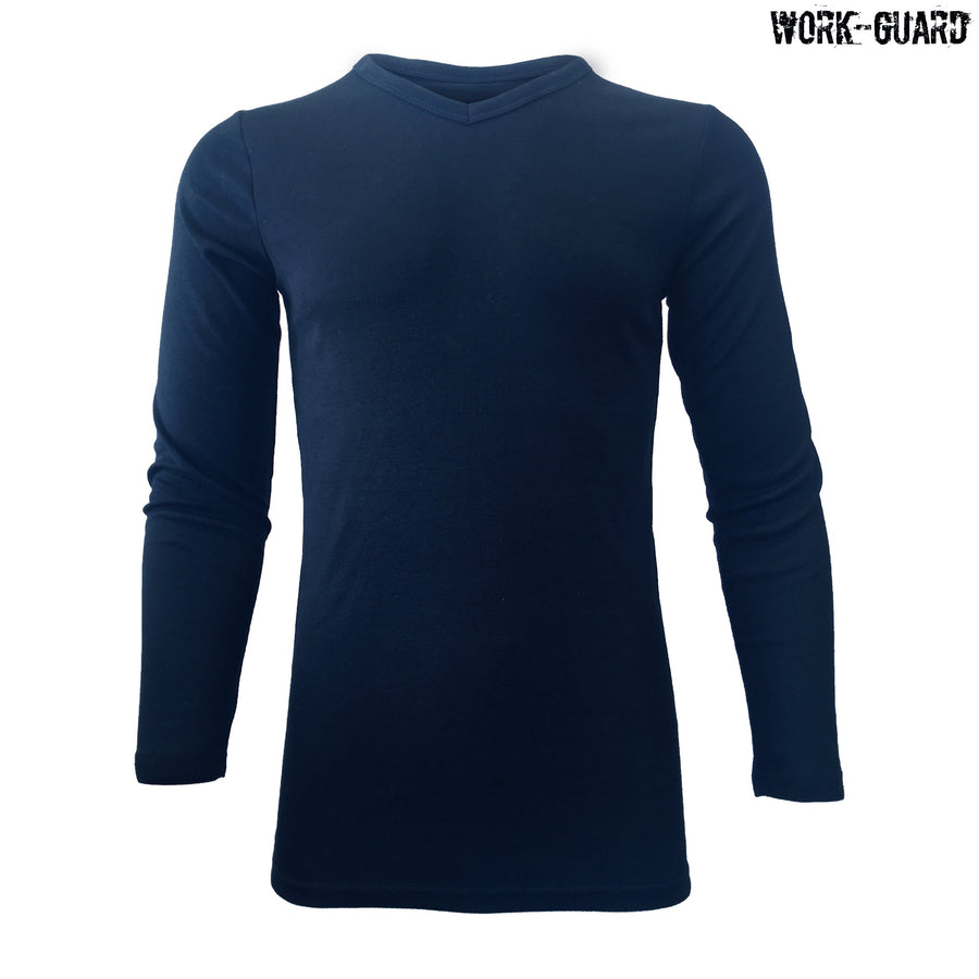 R455X Workguard Adult Longsleeve V-Neck Thermal
