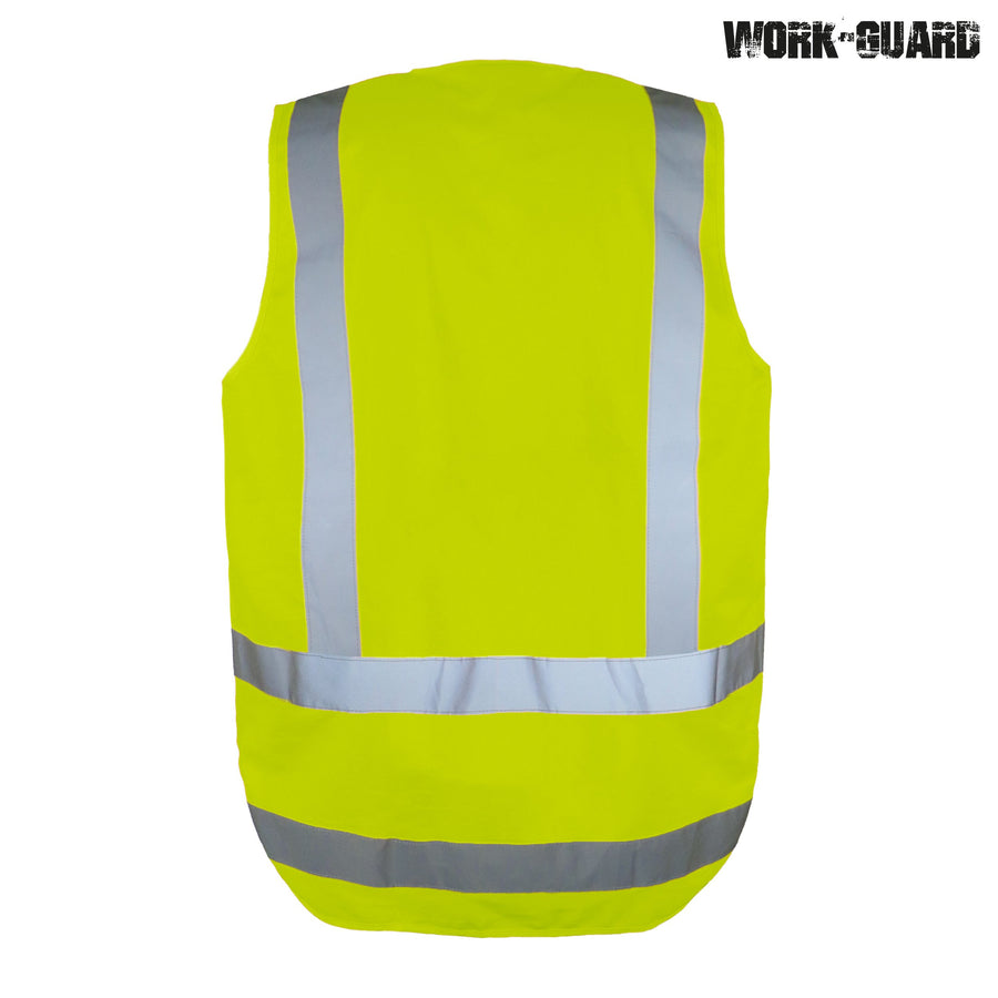 R462X Hi Visibility Safety Vest Day/Night (TTMC Orange Only)