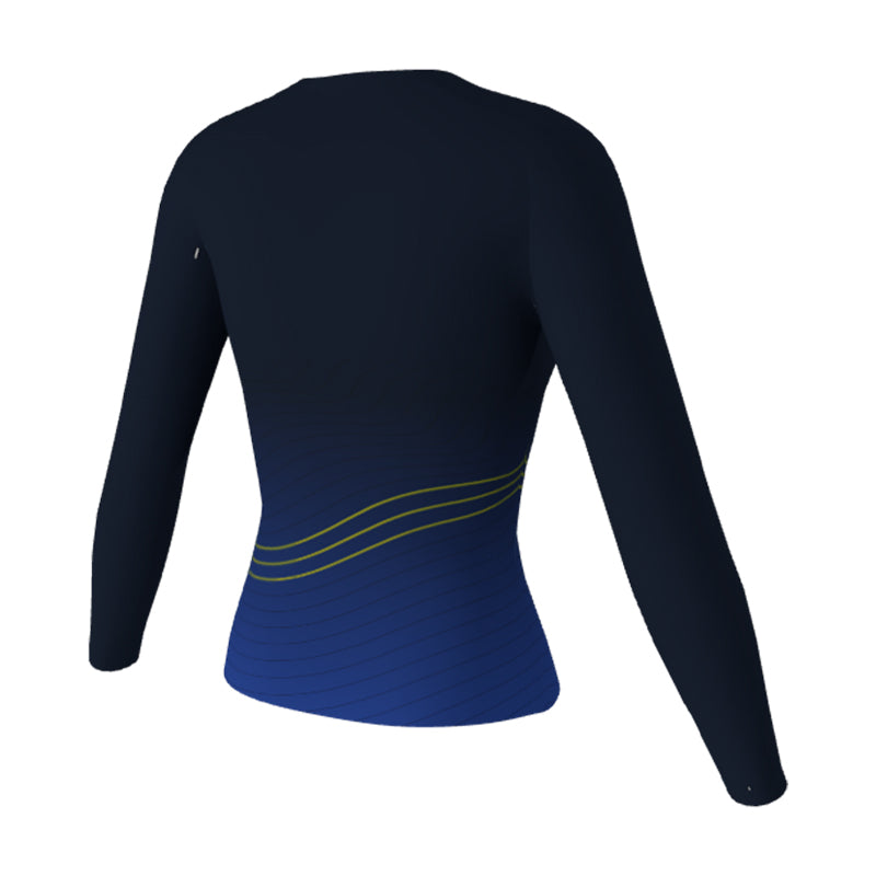 Womens Sublimated Long Sleeve T-Shirt