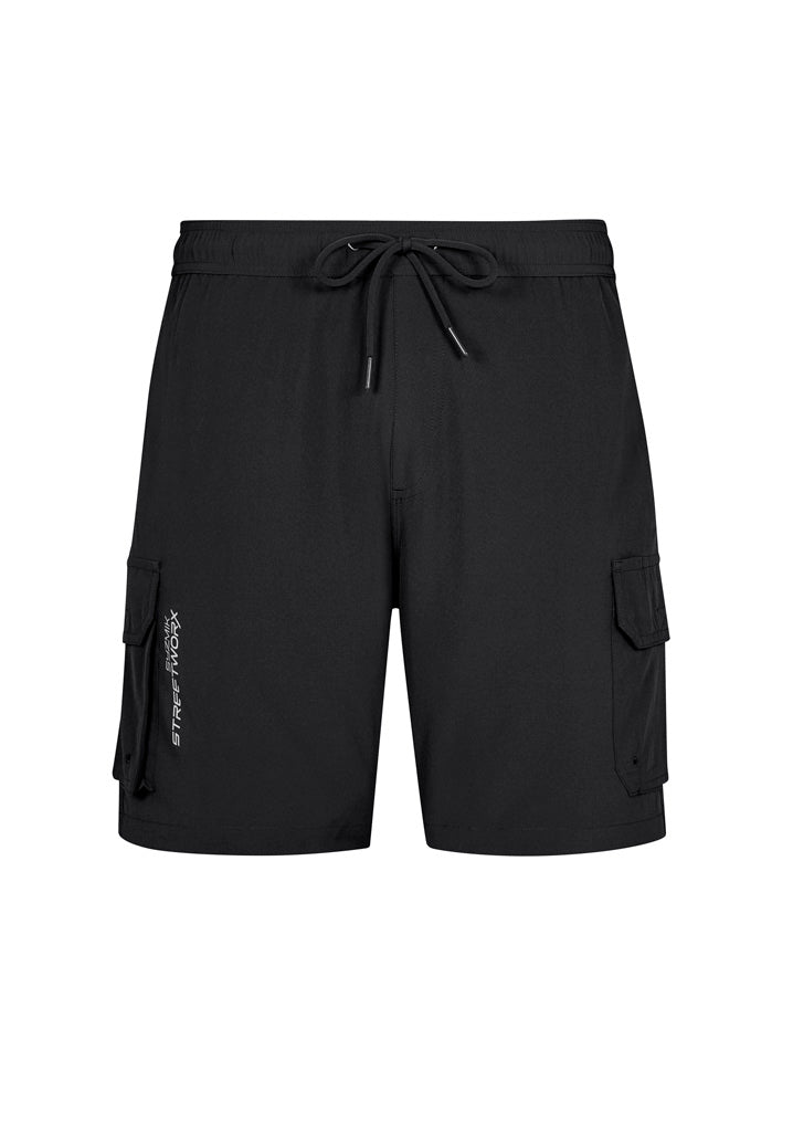 Mens Streetworx Stretch Work Board Short ZS240
