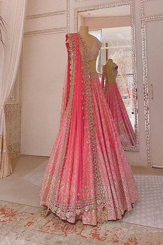 Amazing baby Pink Color Designer Lehenga Choli IS4744