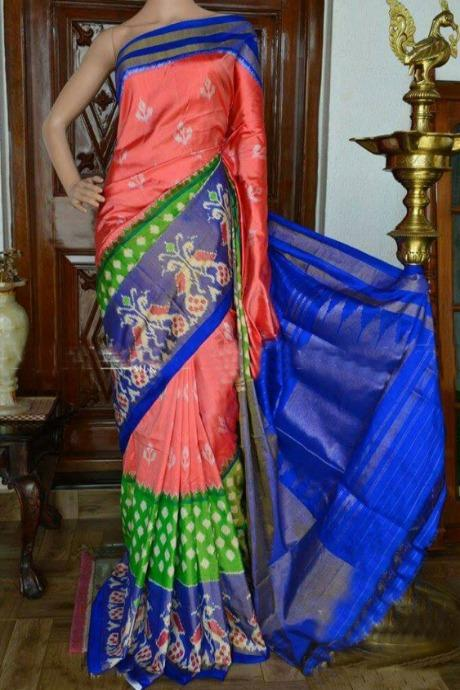 Glorious Multi Color Soft Silk Designer Banarasi Sarees IS2044