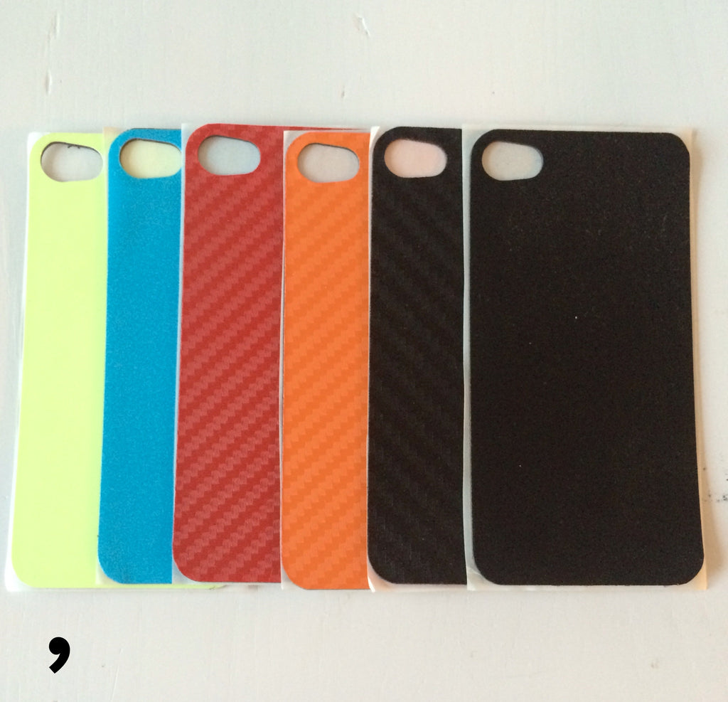 MagSkin: Magnetic Skins for iPhone 4 4s Comma MAGnificent