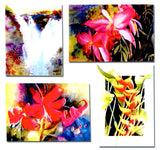 Set of 4 Note Cards - Evelyn J. Seto Watercolors