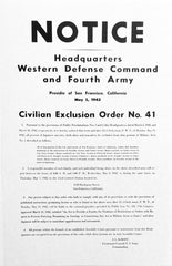 Exclusion Order 41 Poster
