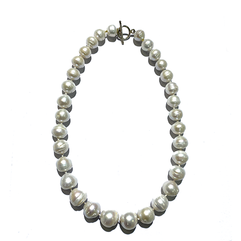 Graduated pearl necklace NEW! - Agau Gioielli