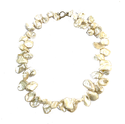 Necklace with chip pearls NEW! - Agau Gioielli