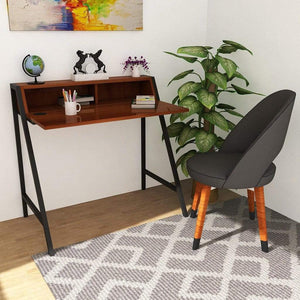 2 Tier Computer Desk PC Laptop Table Study Writing Home Office Workstation