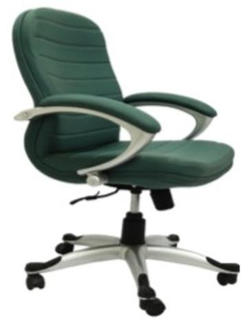 Executive Leatherette Chair with Adjustable Height