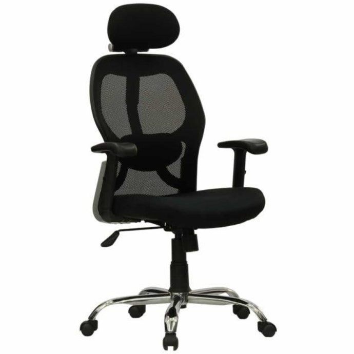 High Base Black Color Office Executive Chair for WFH