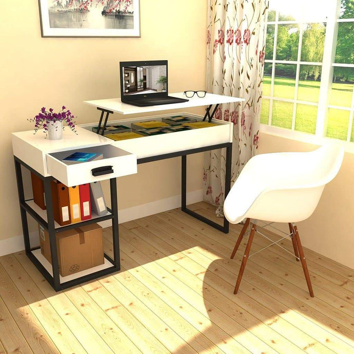 Sit To Stand Table Modern Writing Desk