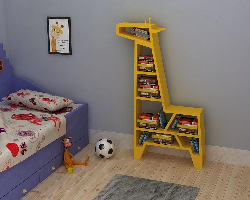 This bookshelf is for the Animal lovers!