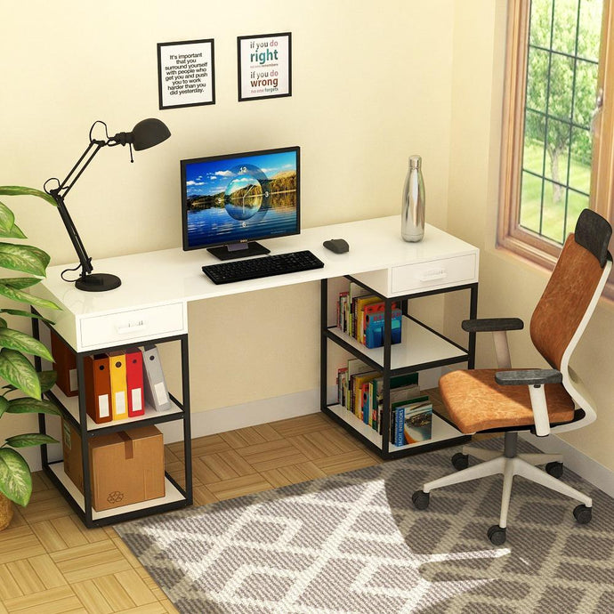 Trendy Desk with Built In Storage - Kayo