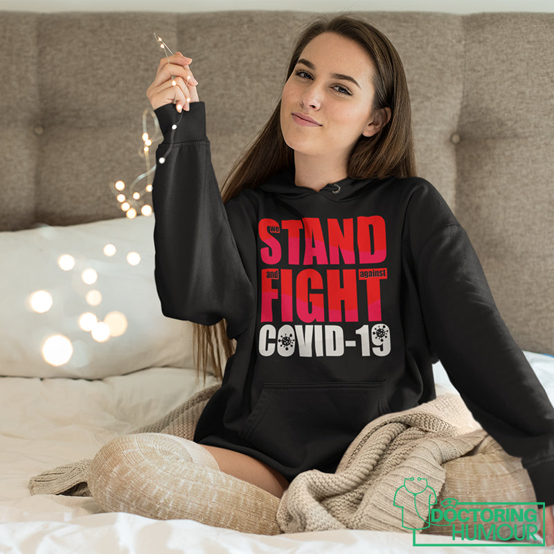 We Stand And Fight Covid - 19 - Doctoring Humour