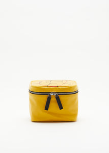 """PILI AND BIANCA"" BEAUTY CASE GIALLO"