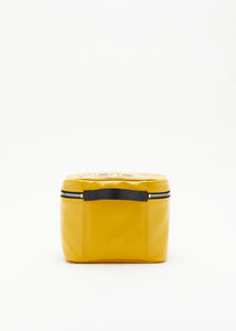 """PILI AND BIANCA"" YELLOW BEAUTY CASE"