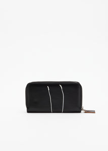 """PILI AND BIANCA"" BLACK WALLET"