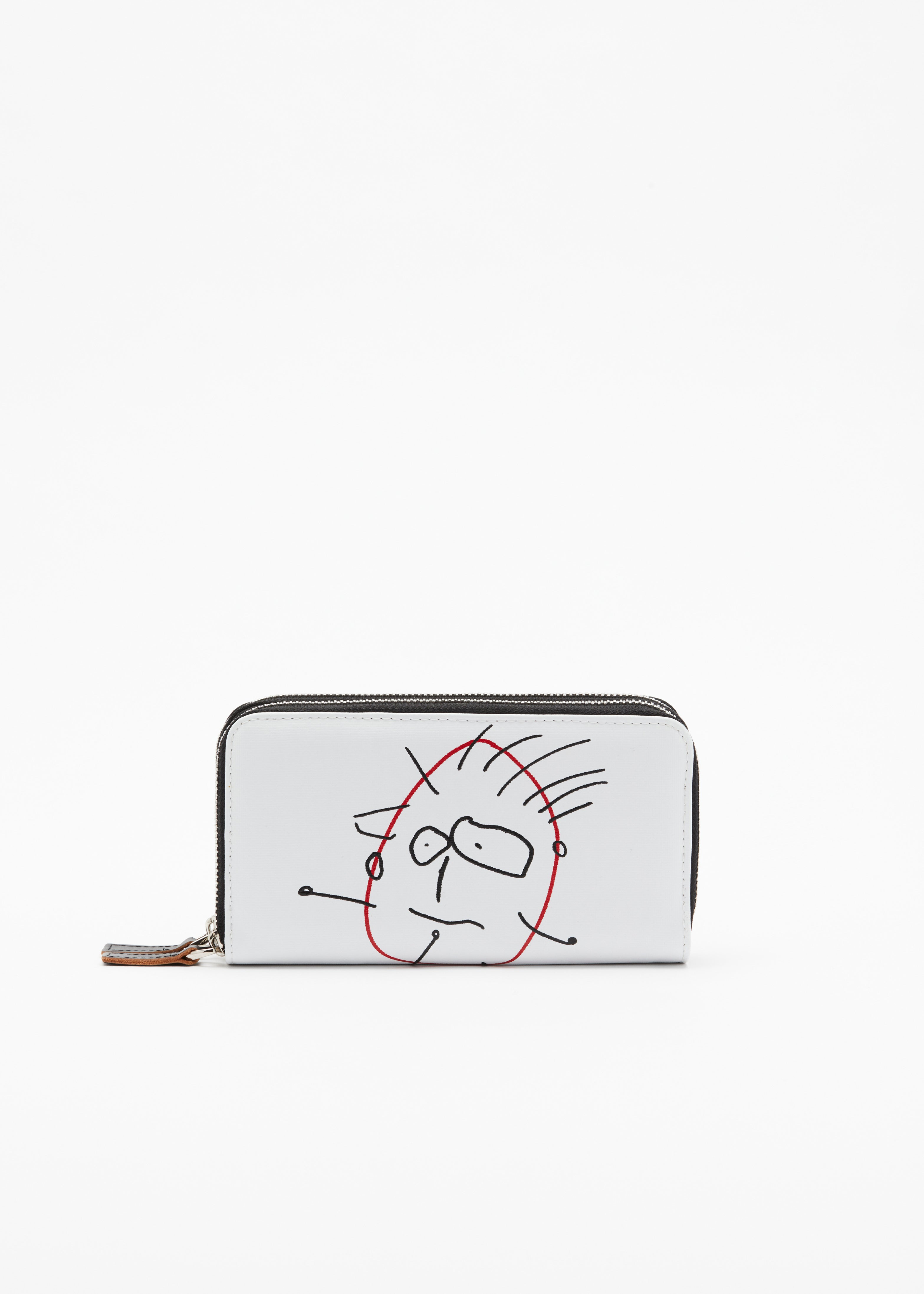 """PILI AND BIANCA"" WHITE WALLET"