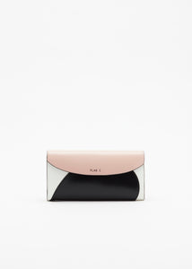 COLOUR BLOCK PINK WALLET