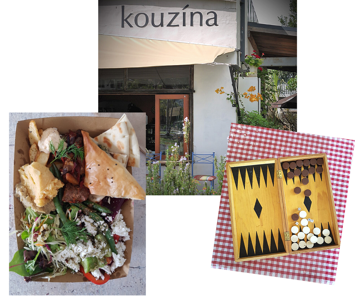 elements i love, byron bay, kouzina, Greek