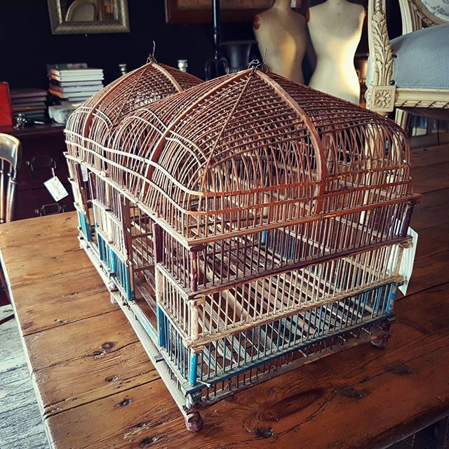 Decorative Cane Bird Cage