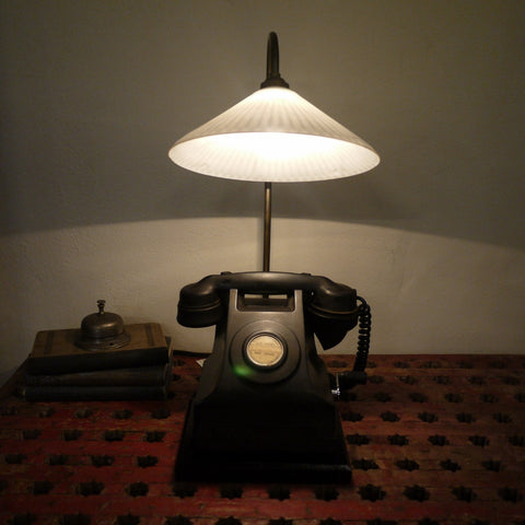 Bakelite Telephone Lamp