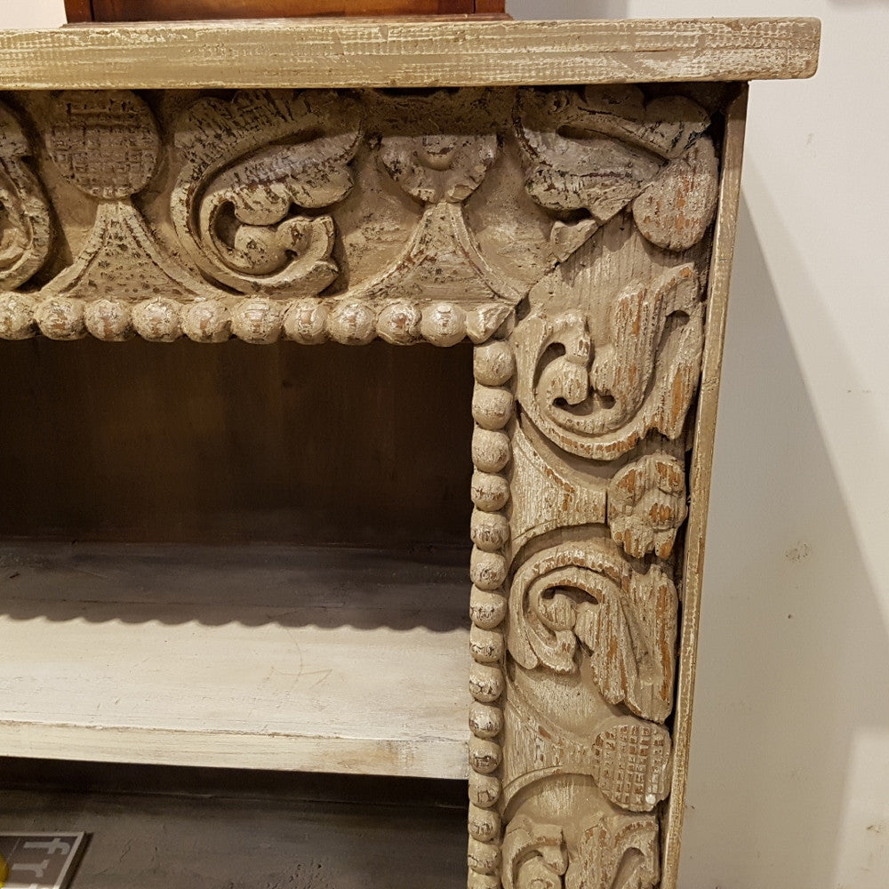 Carved Openfront Bookcase