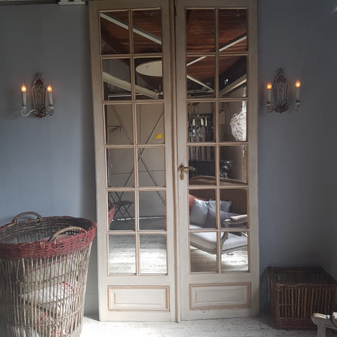 French Mirrored Doors
