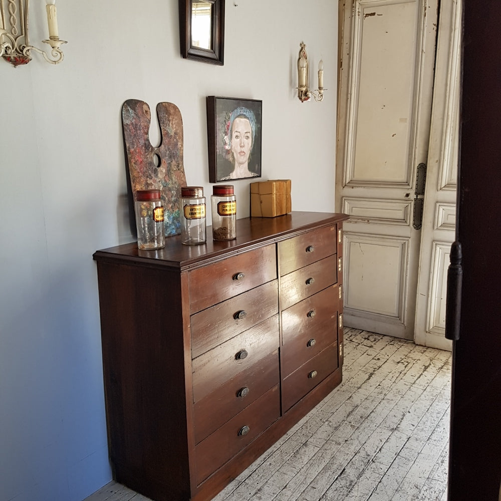 20thC Shopfitting/Drawers