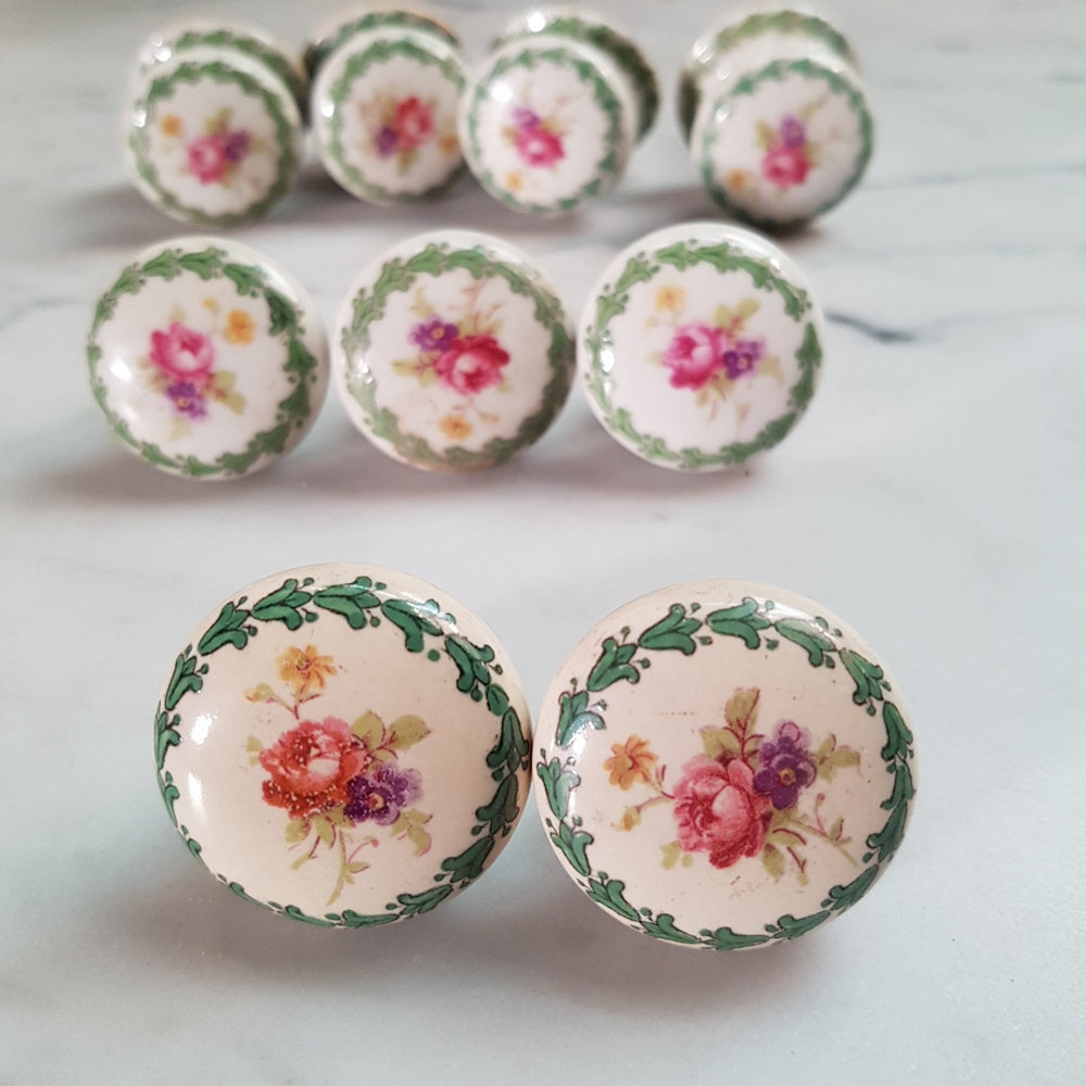 Vintage Porcelain Knobs