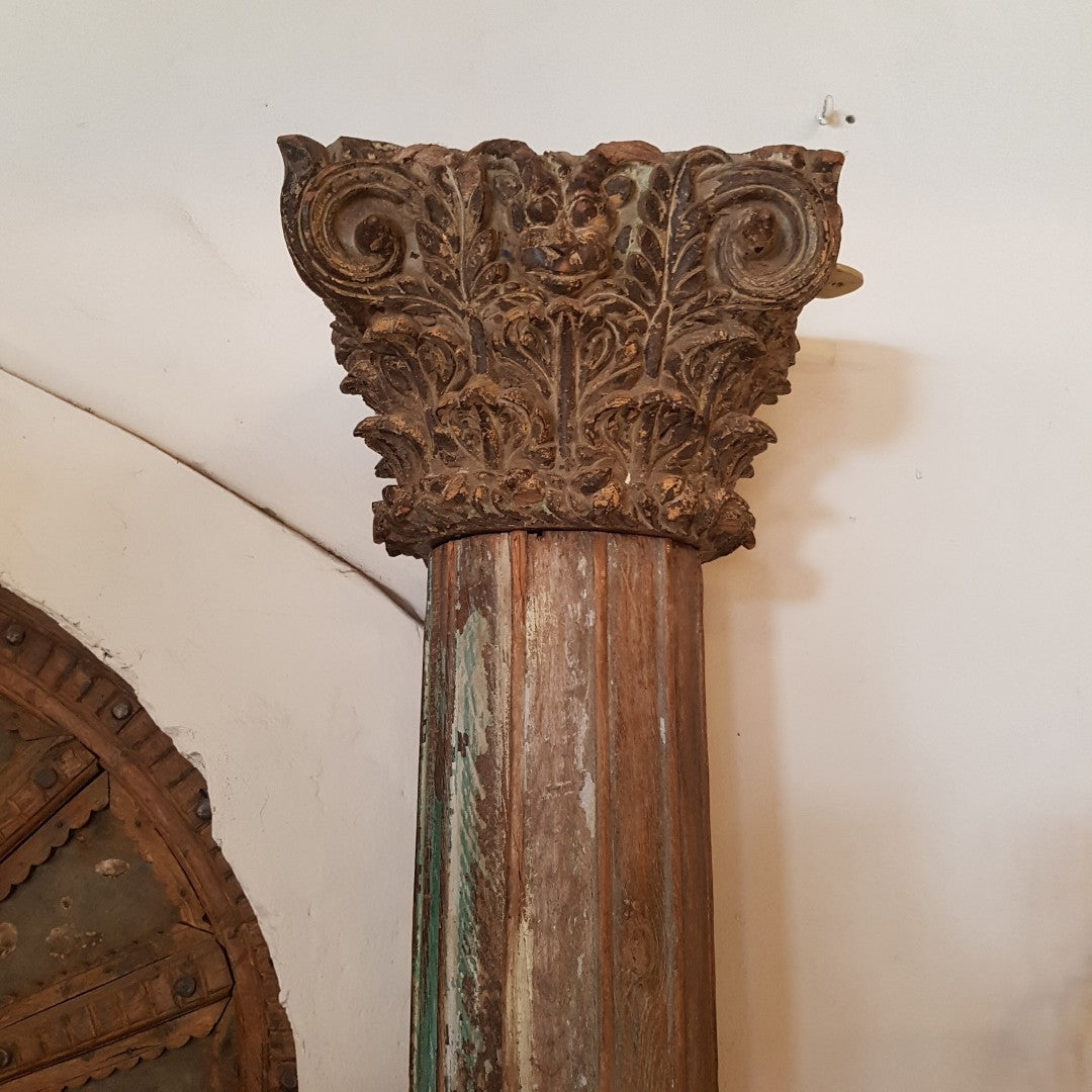 Fluted Indian Columns