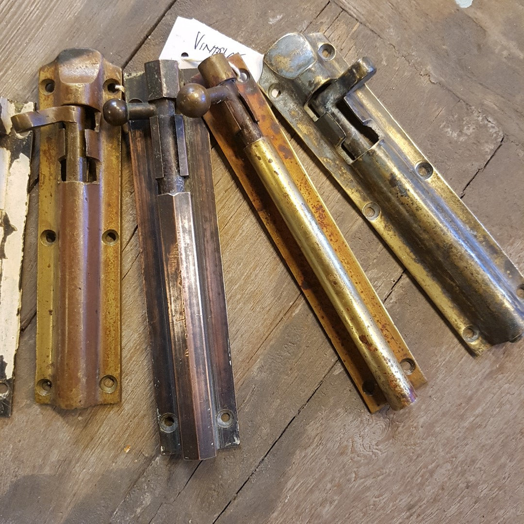 Vintage Slide Bolts