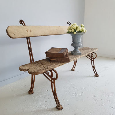 French Antique Bench