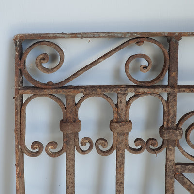 Wrought Iron Grille - Small