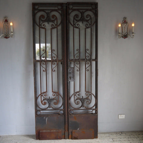 Wrought Iron Entry Gates - Architectural Antiques, Antique Doors, Elements I Love, Sydney