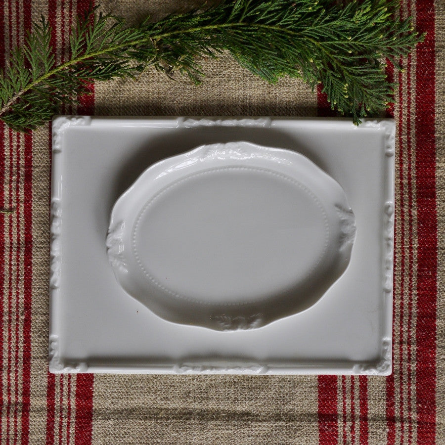 White 'Assiette' Porcelain