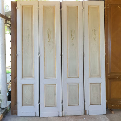 Narrow Salon Doors
