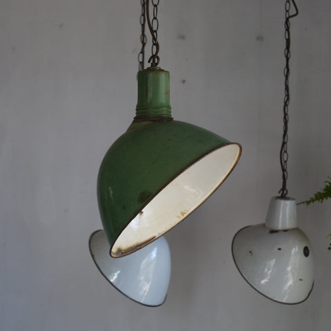 Enamel Industrial Light