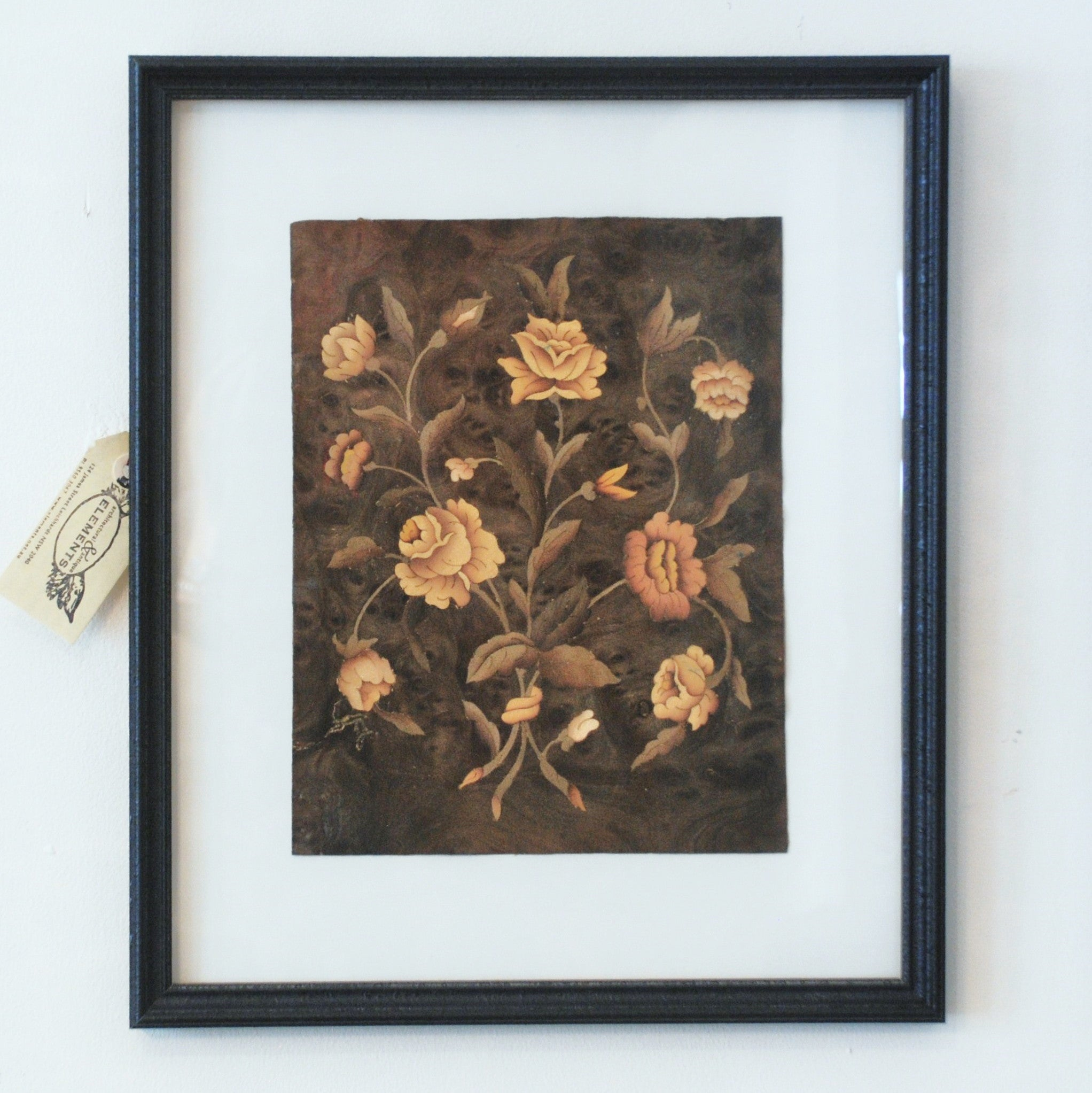 Framed French Marquetry